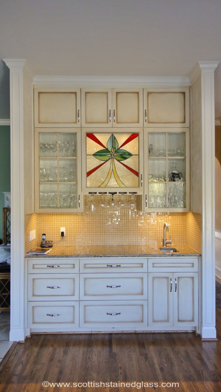 With Stained Glass, You Can Turn Ordinary Cabinets Into An Elegant  Ornamental Feature. It Allows You To Show Off Your Antiques, China, Or  Unique Glassware.
